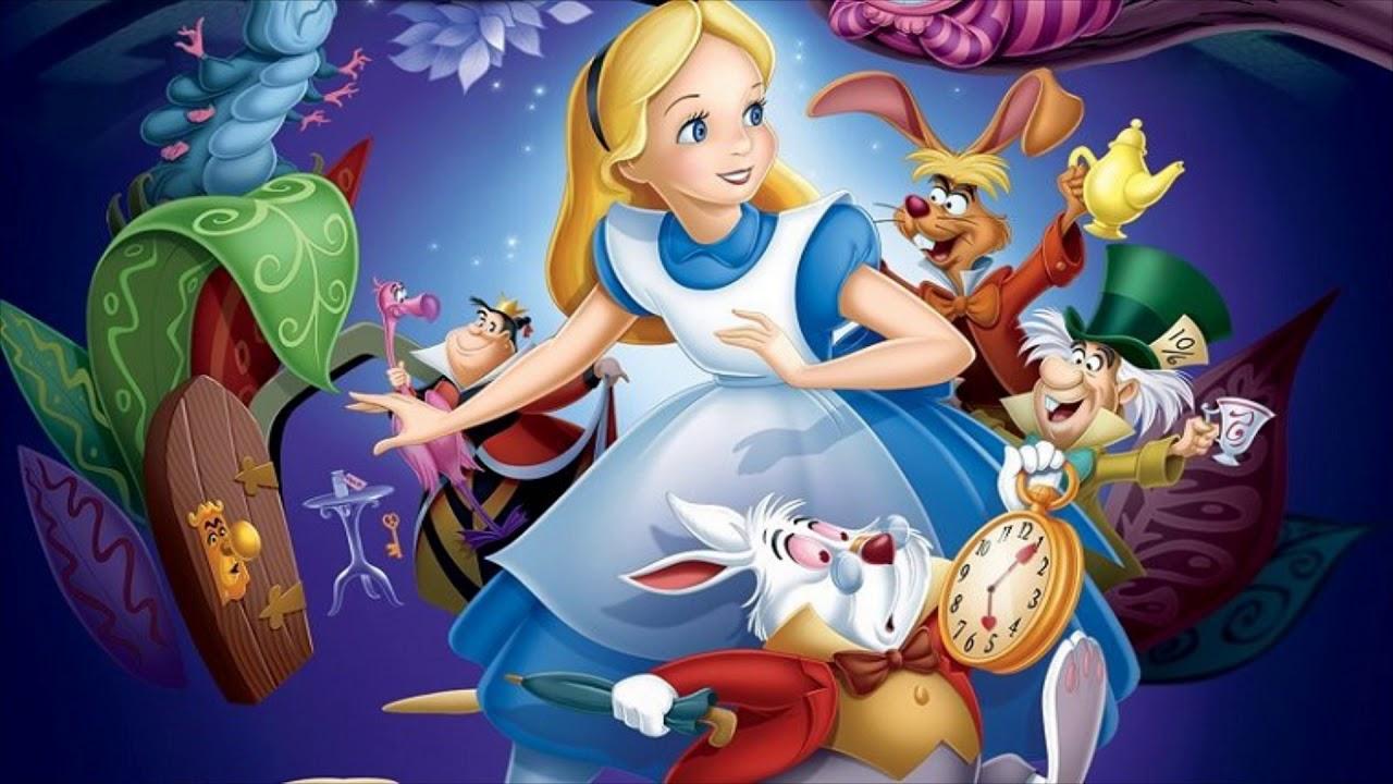 Картинки для мультфильма алиса в стране чудес