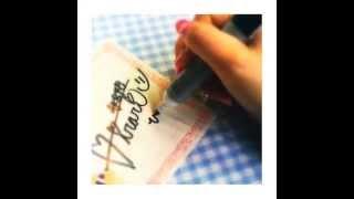 My Signature #サイン会 #ひらりー #signature.