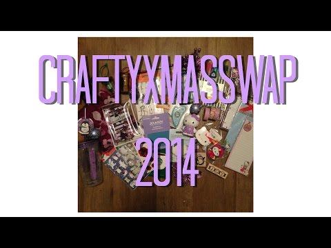 Crafty Xmas Swap 2014 with love4creativity