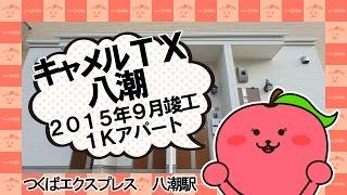 アパマンショップ草加店のおすすめ1K、「キャメルTX八潮」のイメージ動...