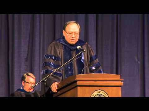 2013 Mendoza College of Business Undergraduate Commencement Address