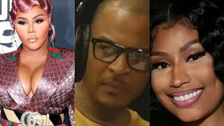 TI debates on Lil Kim and Nicki Minaj Who39s the Greatest of all time