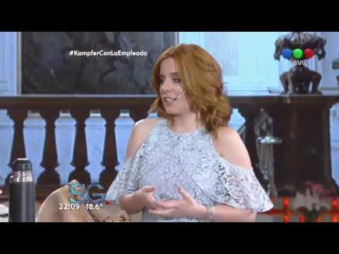 Incómoda pregunta de Susana a Agustina Kämpfer sobre Amado Boudou