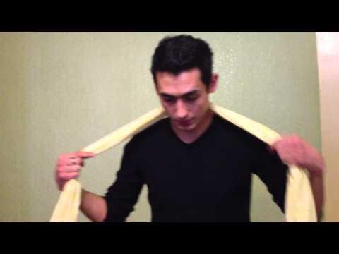 Урок №3. Фокус с шарфом
