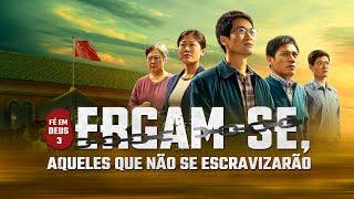 """Filme gospel """"Fé em Deus 3 – Ergam se, aqueles que não se escravizarão"""" (Trailer)"""