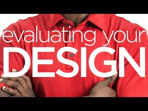 Creative Tutorial: Evaluating your design