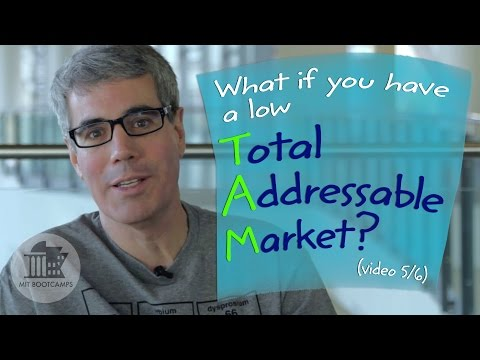 #37. What To Do if Total Addressable Market (TAM) is Low (Pt 5/6)