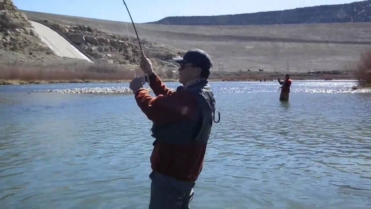 The san juan river big trout fly fishing father son spring for San juan fly fishing