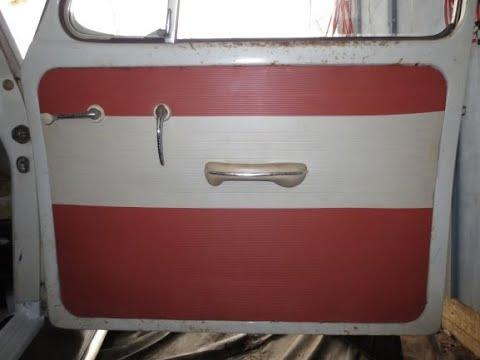 """1965 VW BEETLE """"MISTY"""" restoring original door cards"""