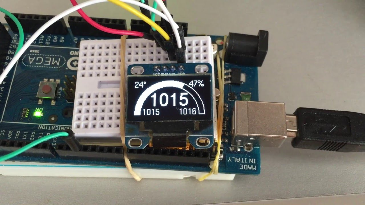Personal weather station with oled display youtube