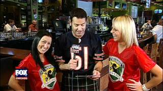 Tilted Kilt Football Challenge on Fox Chicago Week 6