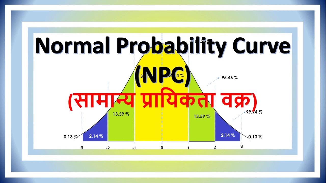 lecture- 28 || Normal Probability Curve