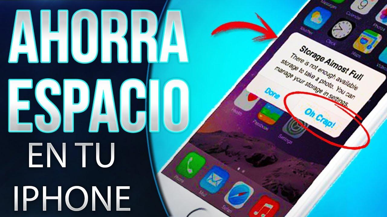7c13563b5b0 CÓMO AHORRAR ESPACIO EN IPHONE   Mejores TIPS para LIBERAR y AHORRAR espacio !