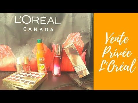 VLOG + HAUL 》 Vente privée l'Oréal à Montréal 2017  | Moroccan LadyDee | اجيو دوزو نهار معايا