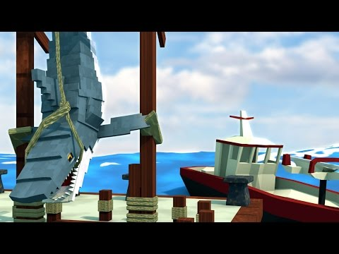 Jaws Movie 2 - What Really Happened to All the Sharks!? (Minecraft Roleplay) #1