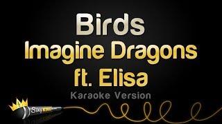 Imagine Dragons ft Elisa Birds Karaoke Version