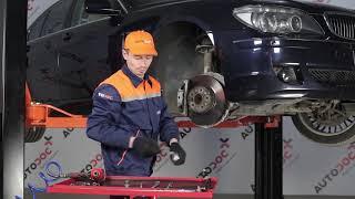 Como mudar Cintas de travão BMW 7 (E65, E66, E67) - tutoriais