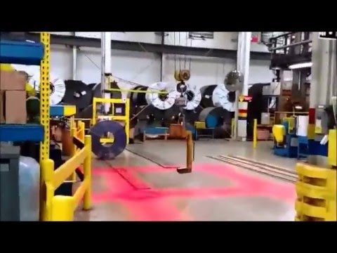 overhead crane safety warning light youtube