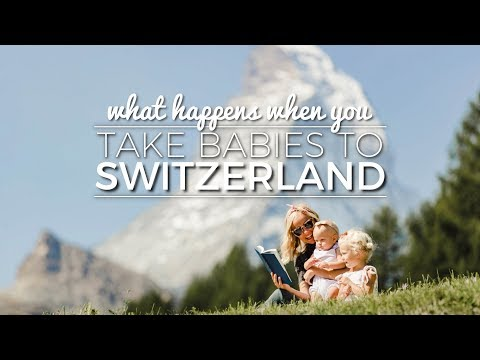 WHAT HAPPENS WHEN YOU TAKE BABIES TO SWITZERLAND || EUROPE VLOG 2017 pt. 2