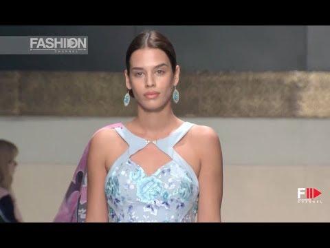 FAKHRIYA KHALAFOVA Oriental Fashion Show 2018 Istanbul - Fashion Channel