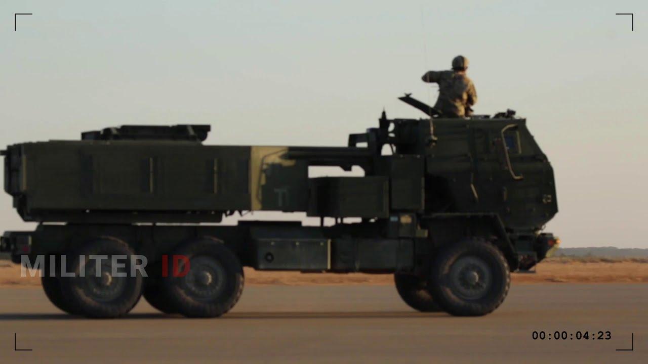 M142 High Mobility Artillery Rocket System (HIMARS) firing during Operation  Thunderstruck 2020 - YouTube