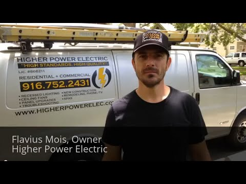 Electrician in Roseville CA 916-752-2431 Electrical Contractor Roseville California
