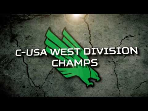North Texas Football: 2017 C-USA West Division Champs