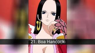 TOP 31 Guerreras más poderosas del anime
