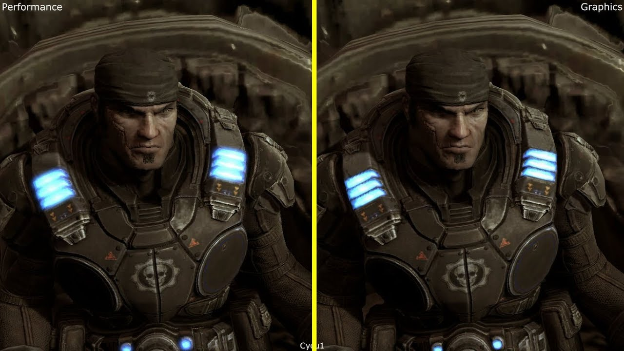 how to set performance mode gears of war