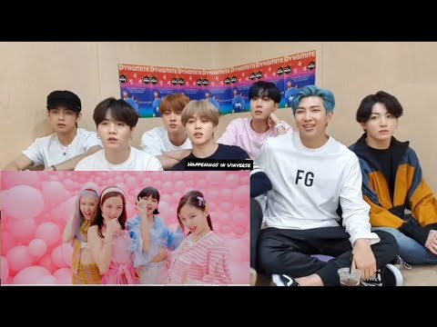 BLACKPINK – 'Ice Cream (with Selena Gomez)' M/V   , Reaction by BTS