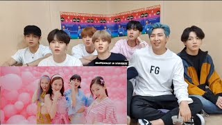 BLACKPINK - 'Ice Cream (with Selena Gomez)' M/V   , Reaction by BTS