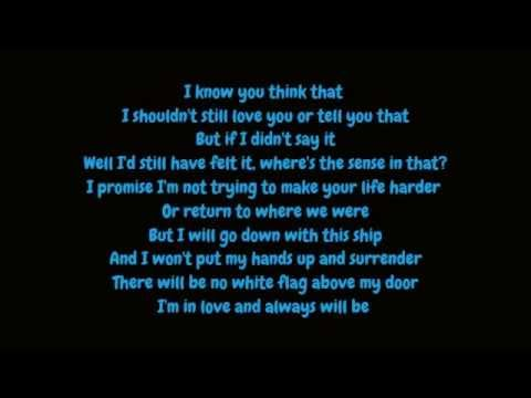 Dido - White Flag (Lyrics HD)
