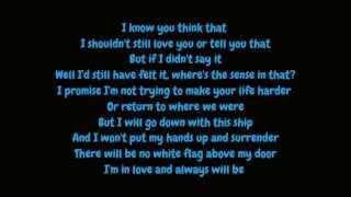 Dido - White Flag (Lyrics HD)