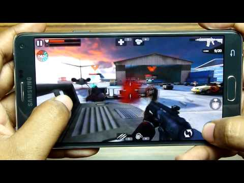 Galaxy NOTE 4 Gaming Test - QuadHD pixelation, Battery & Overheating
