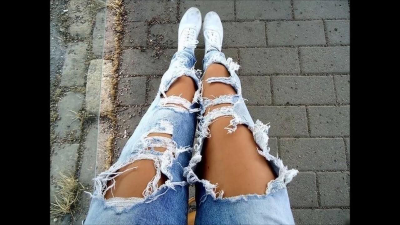 Рваные джинсы bonprix: новая коллекция трендовых вещей!. Стильные джинсы с порезами станут изюминкой вашего гардероба – успейте заказать.