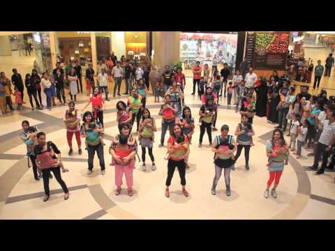 India' First Babywearing Flashmob