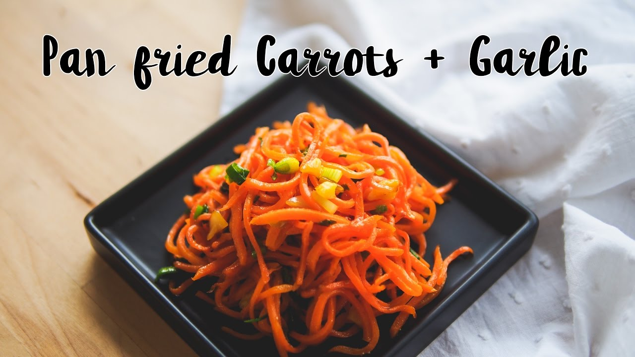 Pan fried carrots garlic chinese food recipe youtube pan fried carrots garlic chinese food recipe forumfinder Image collections