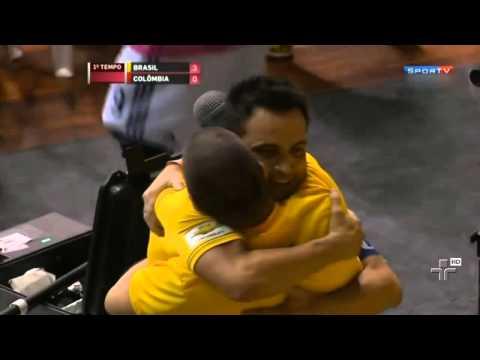 Falcão Comanda Vitória Do Brasil No Futsal - 14/11/2014