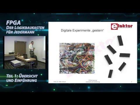 Workshop FPGA/VHDL mit Lattice Diamond - Teil 1 von 4