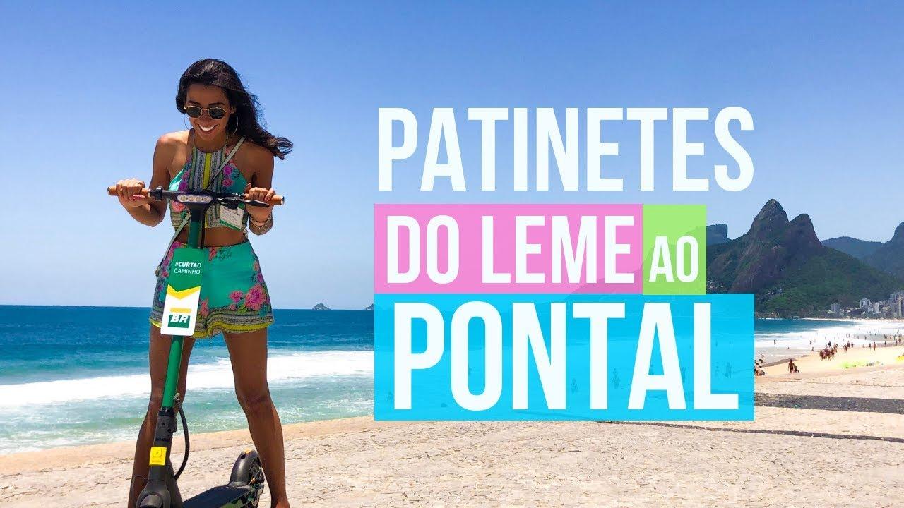OS NOVOS PATINETES da PETROBRÁS | Pelo Rio Blog