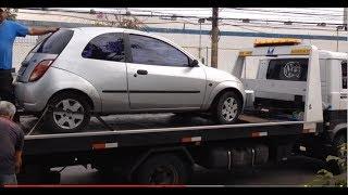 Fui Buscar o Ford KA que comprei no Leilão ! Veja como é a retirada de um carro no Pátio