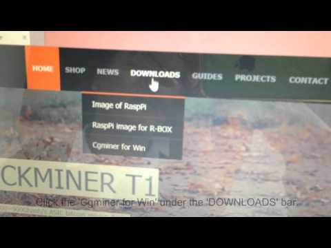 Rockminer New R-Box 100-140 Gh/s Bitcoin Miner Operational Guide (Chinese Language)
