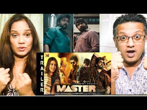 Master  Trailer Reaction |Thalapathy Vijay, Vijay Sethupathi |Lokesh Kanagaraj |Amazon Prime Video