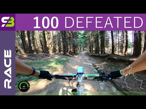 Overtaking 100 Riders. 33 km MTB Race With 1000 m Of Climbing.