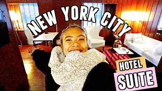 Come to NEW YORK CITY with Me! Hotel Suite, Times Square + More!