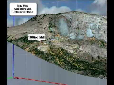 May Mac Underground Gold Silver Mine