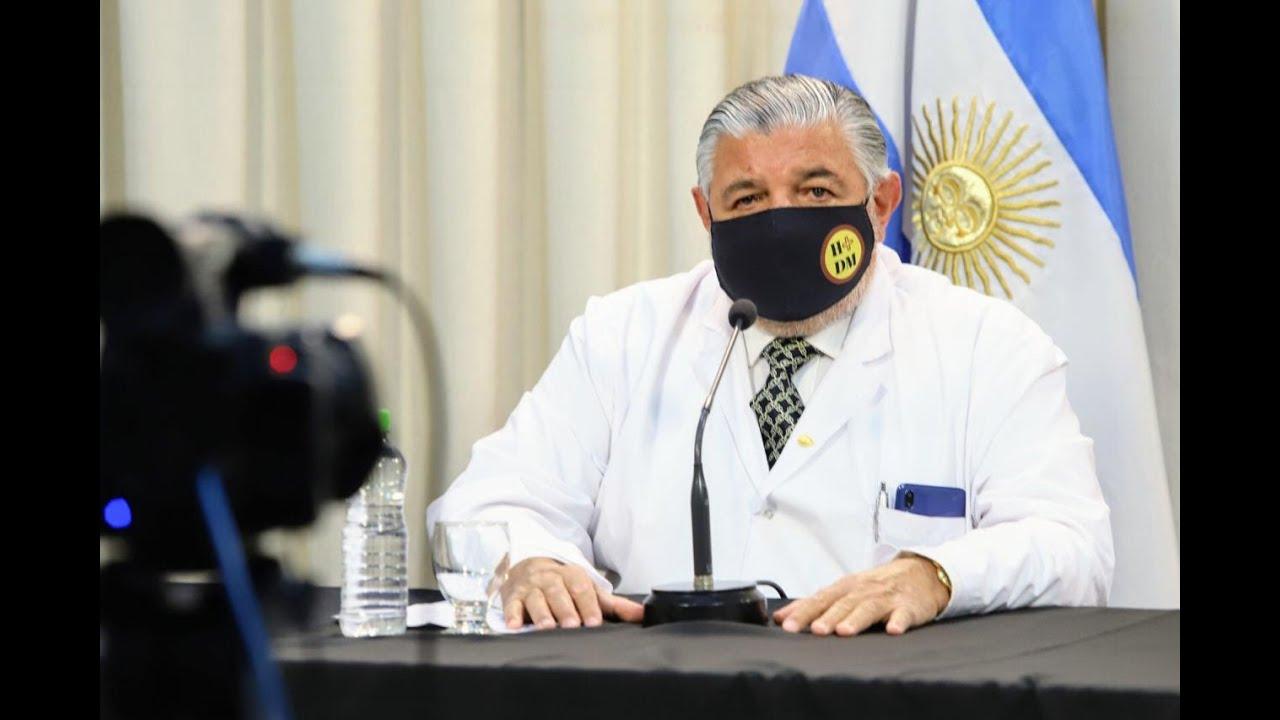 Esteban sobre situación epidemiológica 241120 Gobierno de Salta