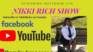 The Nikki Rich Showlive with Mary Angel