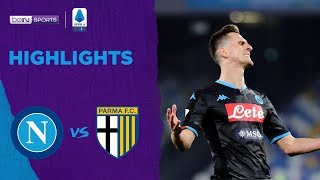 Napoli 1-2 Parma | Serie A 19/20 Match Highlights