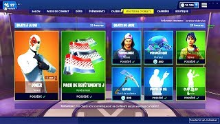 BOUTIQUE FORTNITE du 14 Mars 2019 ! ITEM SHOP March 14 2019 !